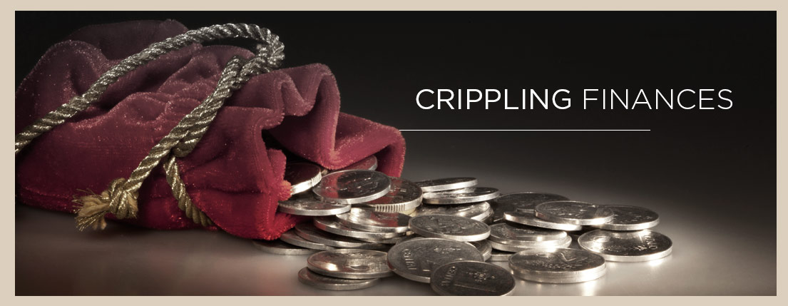 Crippling-Finances